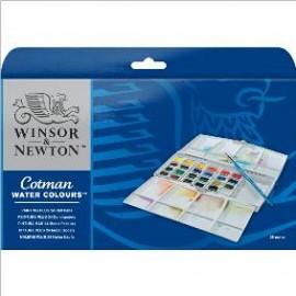 Acuarela Cotman caja 24 colores WN