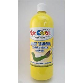 Témpera Escolar Amarillo 1L Toy Color