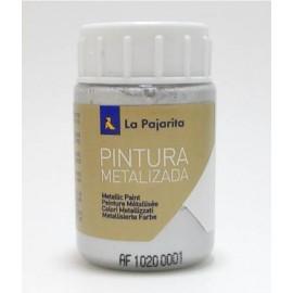 Pintura Metalizada Plata 35ml Pajarita