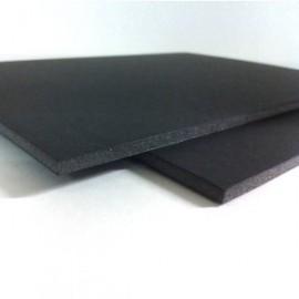 Cartón Pluma 5mm Negro 50x70