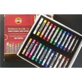 Pastel 24 colores Toison D´or