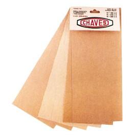 Papel Lija 6 hoja madera