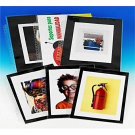 Fundas A3 Plus Anillas PVC Pack 10