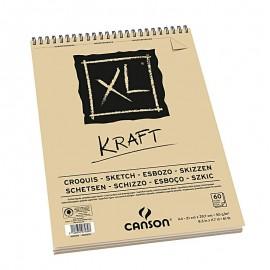 Bloc XL Kraft A4 90g 60hojas Canson