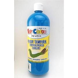 Témpera Escolar Azul Cyan 1L Toy Color