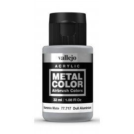 Metal Color Aluminio Mate 32ml VALLEJO