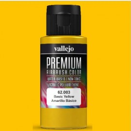 Premium RC-Color Amarillo Básico 60ml Vallejo