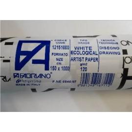 Papel Rollo Eco 1.5x10Mt 120gr Fabriano