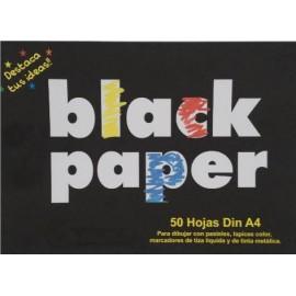 Papel Negro Mate 80gr  A4 Pack 50h