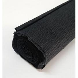 Papel Crespon Florista Negro 50x250cm