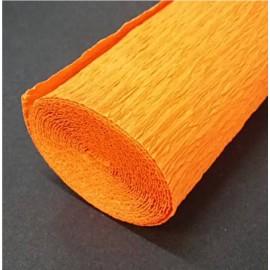 Papel Crespon Florista Naranja 50x250cm