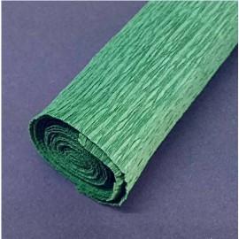 Papel Crespon Florista Verde Oscuro 50x250cm