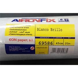 AironFix Blanco Brillo 45cmtx1Mt