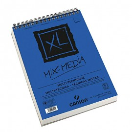 Bloc XL Mixmedia A4 300g 30hojas Canson