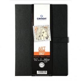 Libro Art Book 180º A6-96 hojas Canson