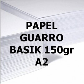 Papel BASIK 150g A2 GUARRO
