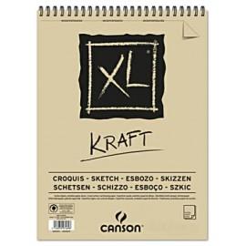 Bloc XL Kraft A5 90g 40hojas Canson