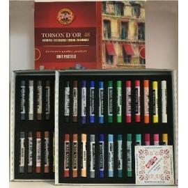 Pastel 48 colores Toison D´or