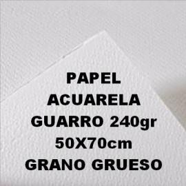 Papel Acuarela 240g GG 50x70cm Guarro