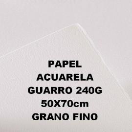 Papel Acuarela 240g GF 50x70 Guarro
