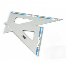 Cartabón 21cm Aluminio