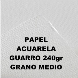 Papel Acuarela 240g GM 50x70cm Guarro
