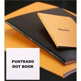 Libreta Grapada Punteada A5 80gr RHODIA
