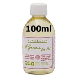 Medium Líquido 100ml Green For Oil Sennelier