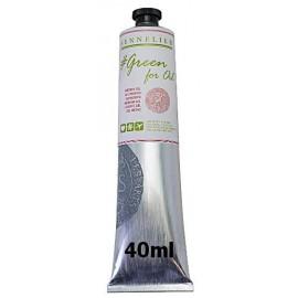 Medium Gel 40ml Green For Oil Sennelier