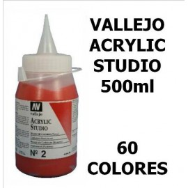 Acrilico Studio 500ml  Vallejo
