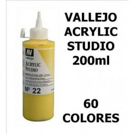 Acrílico Studio 200ml Vallejo