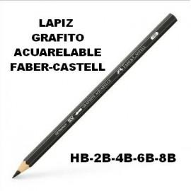 Lápiz Grafito Acuarelable  Faber-Castell