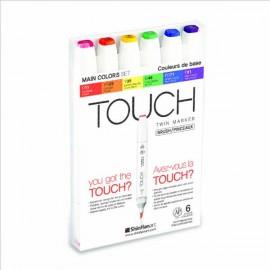 Set 6 Touch Twin Brush Básico