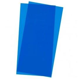 Plástico 15x30cm Azul 2 hojas