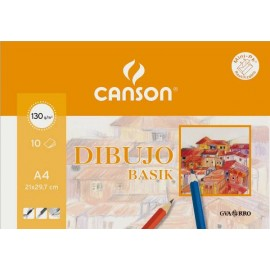 Pack 10 Basik A4-130g CANSON