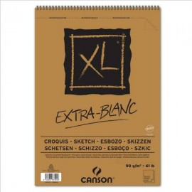 Bloc XL Extra-Blanc A5 90g 60hojas Canson