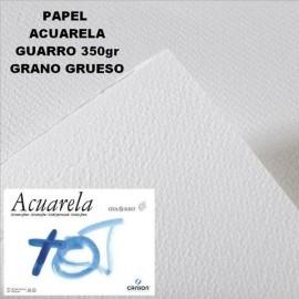 Papel Acuarela 350g GG 50x70cm Guarro