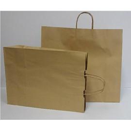 Bolsa Papel Kraft+Asa 46x42cm