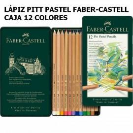 Lapiz Pastel 12u Pitt Faber-Castell
