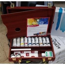 Caja Acrílico Extrafino TITAN 40-TA
