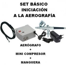 Set Básico de Aerografía D-15
