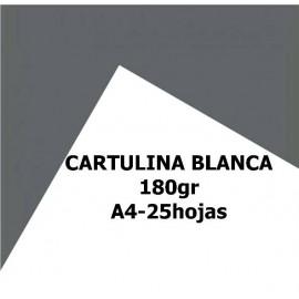 Cartulinas A4 Blanca 180gr 50 hojas
