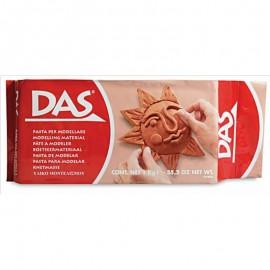 Pasta Modelar DAS 1Kg Terracota