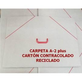 Carpeta A2 Plus Cartón Reciclado