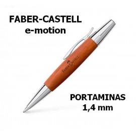 Portaminas 1.4mm e-motion Coñac Faber