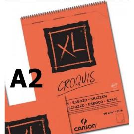 Bloc XL Croquis A2 90g 60hojas Canson