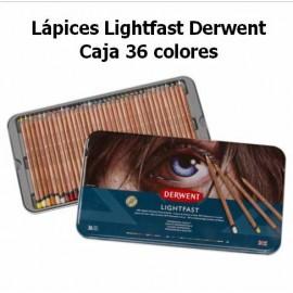 Lápices Lightfast Derwent Caja 36
