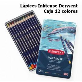 Lápices Inktense Derwent Caja 12