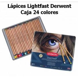 Lápices Lightfast Derwent Caja 24