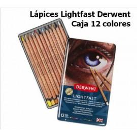 Lápices Lightfast Derwent Caja 12